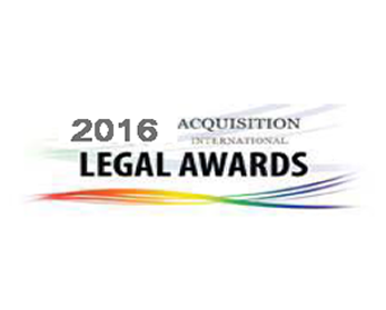 2016 Legal Awards Logo
